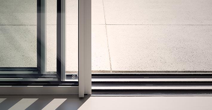 Aluminiowe okna przesuwne
