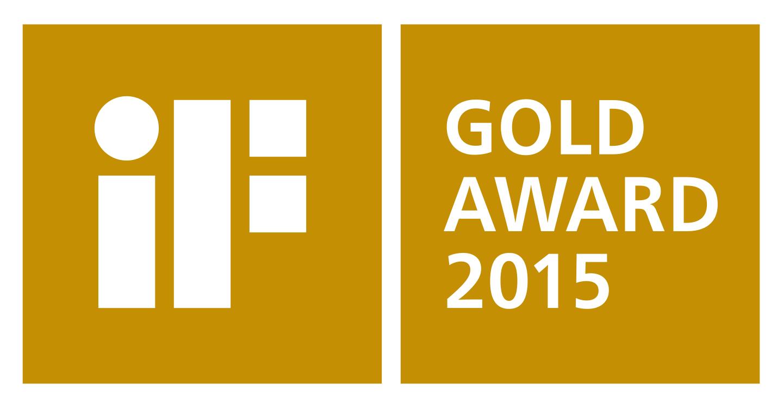 iF Gold Award 2015