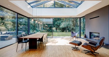 Pasywne okna aluminiowe