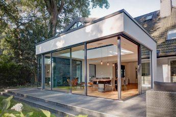 Okna przesuwne narożne aluminiowe Cero