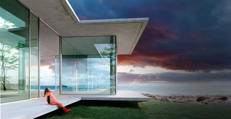 Okna tarasowe aluminiowe Cero
